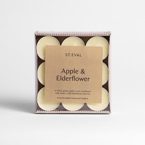 St Eval Apple & Elderflower tealights