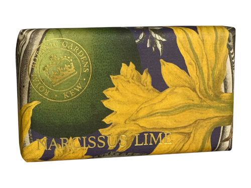Kew Gardens Soap Narcissus Lime 240g - Daisy Park