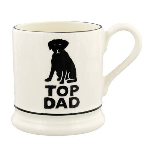 Emma Bridgewater Bright Mugs Top Dad 1/2 Pint Mug - Daisy Park