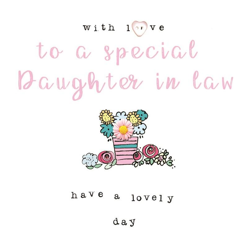 To a special Daughter in law card - Daisy Park