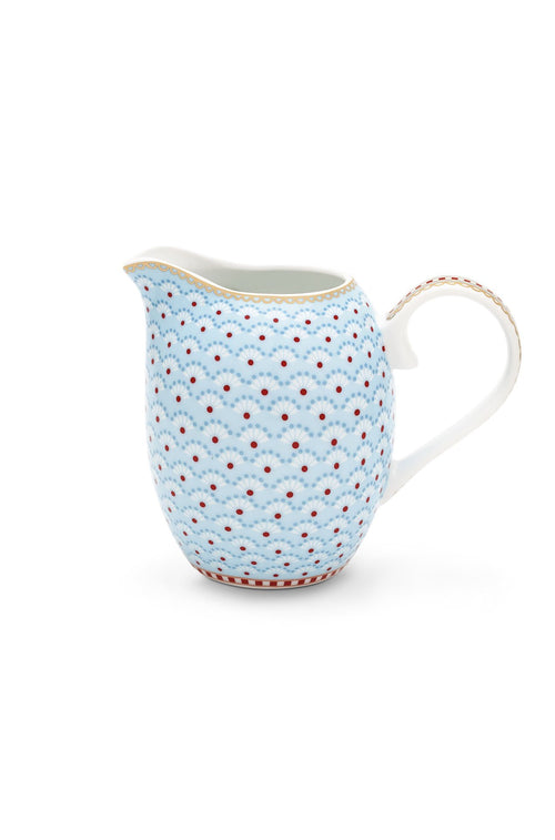 Pip Studio Floral jug small Bloomingtails blue - Daisy Park