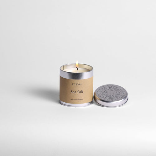St Eval Sea Salt Tin Candle