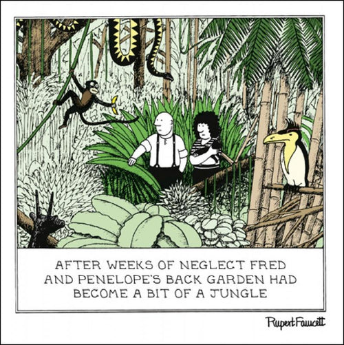Fred - In the jungle card