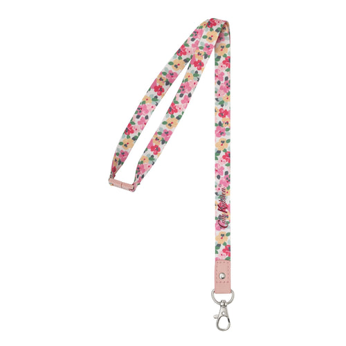 Cath Kidston Painted Pansies lanyard - Daisy Park