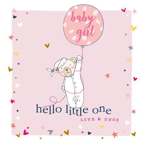 New Baby Girl Card - Daisy Park