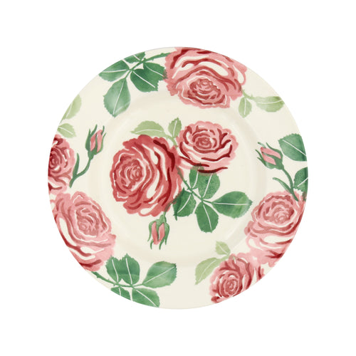 "Emma Bridgewater Pink Roses 8.5"" plate - Daisy Park"