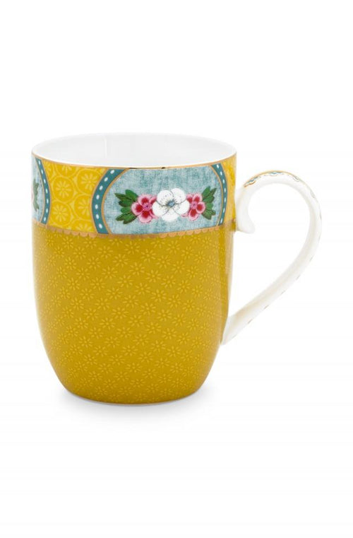 Pip Studio Blushing Birds Yellow small mug - Daisy Park