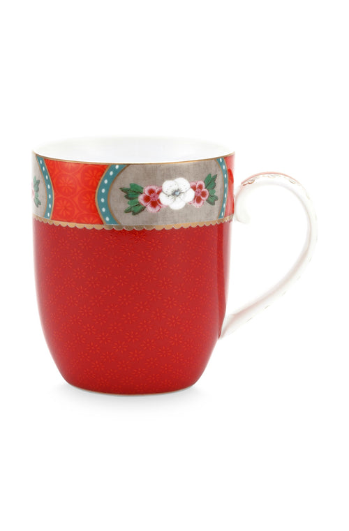 Pip Studio Blushing birds small red mug - Daisy Park