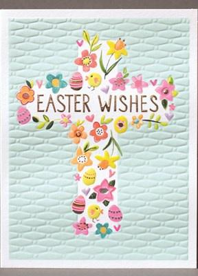 Easter Wishes Cross Card - Daisy Park