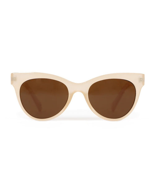 Pamela Sunglasses frosted beige - Daisy Park