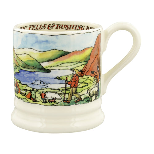 Emma Bridgewater Landscape of Dreams The Lake District 1/2 Pint Mug - Daisy Park