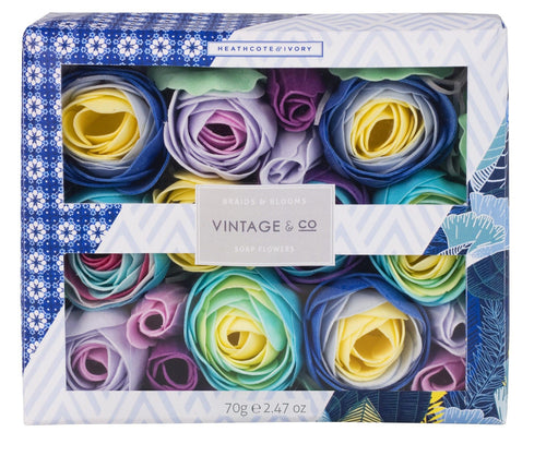 Vintage & Co Braids & Blooms soap flowers - Daisy Park