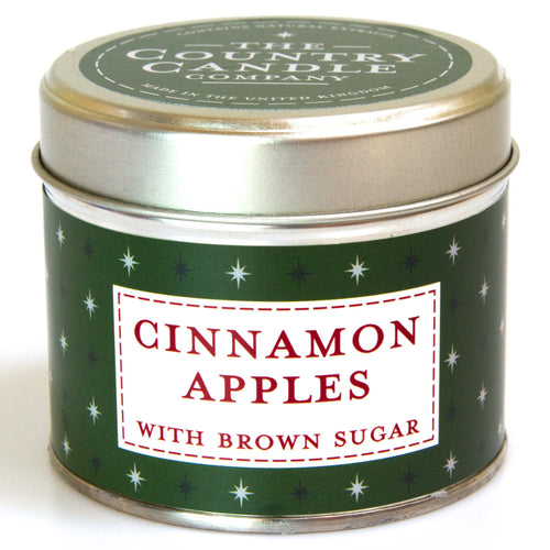 Cinnamon Apples Noel - Baked Apple Tin Candle - Daisy Park