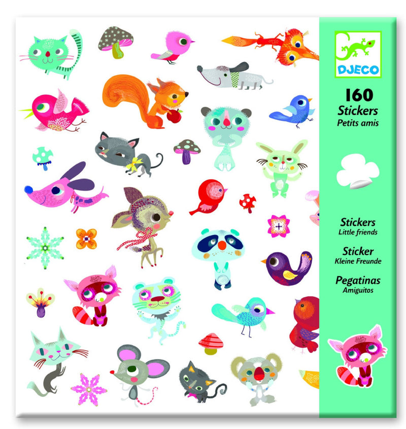 Djeco Little Friends stickers - Daisy Park