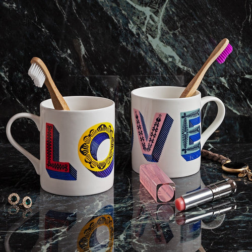Asta Barrington Multi love mug - Daisy Park