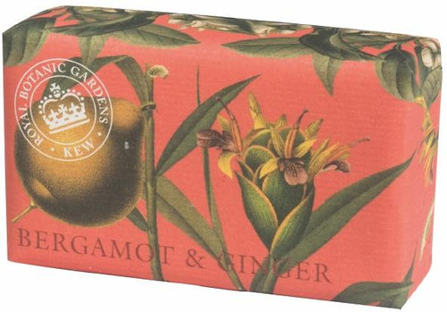 English soap company Bergamot and Ginger soap