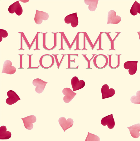 Mummy I Love you card - Daisy Park