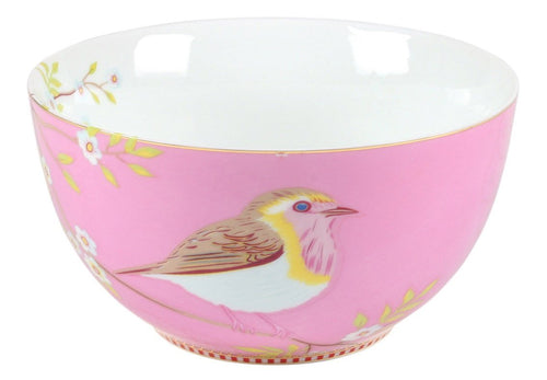 Pip Studio Early bird 15cm pink bowl - Daisy Park