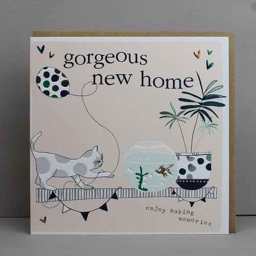 Gorgeous New Home card - Daisy Park