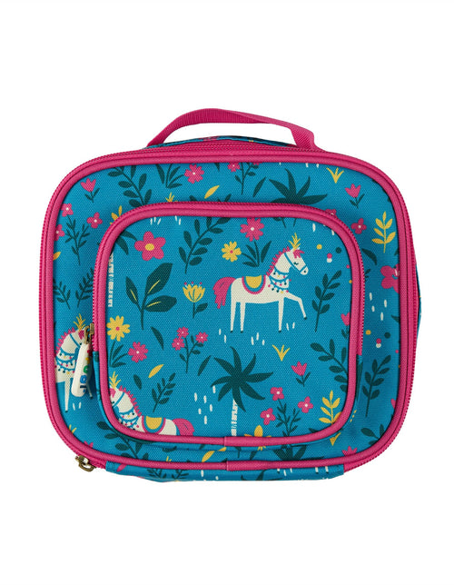 Frugi Horse Pack A Snack Lunch Bag - Daisy Park