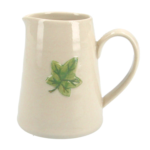 Ivy leaf ceramic mini jug - Daisy Park