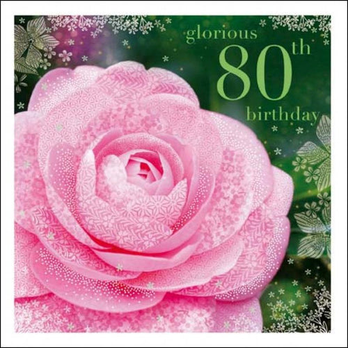 Camelia 80th card - Daisy Park
