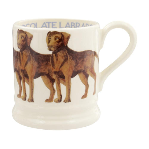Emma Bridgewater Chocolate Lab 1/2pt mug
