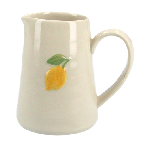 Lemon ceramic mini jug - Daisy Park