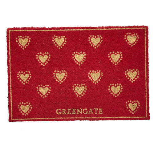 Greengate Penny red doormat - Daisy Park