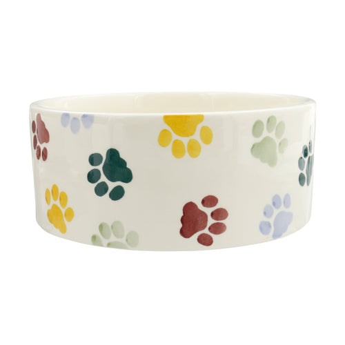 Emma Bridgewater Polka Paws large pet bowl - Daisy Park