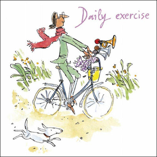 Daily Exercise card - Daisy Park
