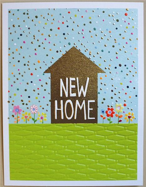 New Home card - Daisy Park
