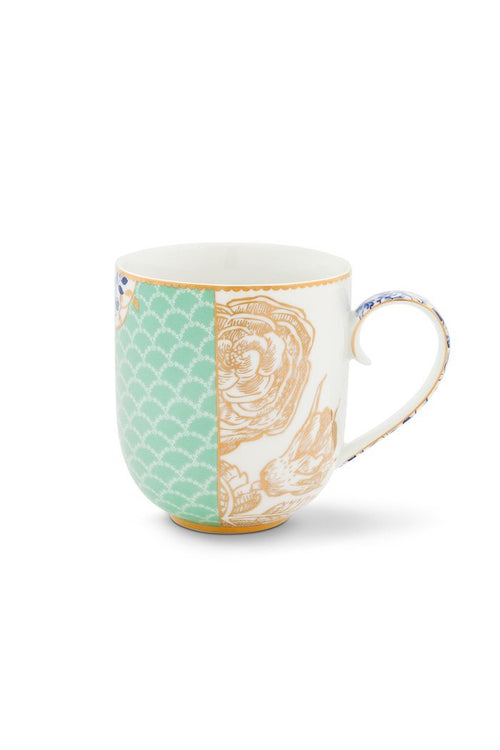 Pip Studio Royal large blue mug - Daisy Park