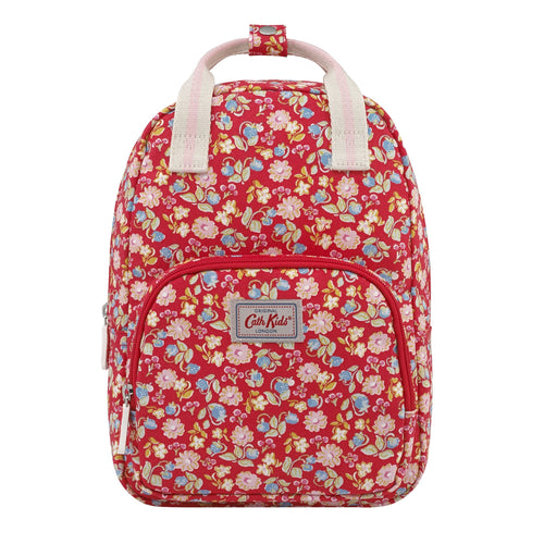 Cath Kidston mini Strawberries and flowers kids medium backpack - Daisy Park