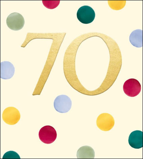 Emma Bridgewater 70th Birthday card