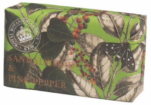 Kew Gardens Sandalwood and pink peppercorn soap - Daisy Park