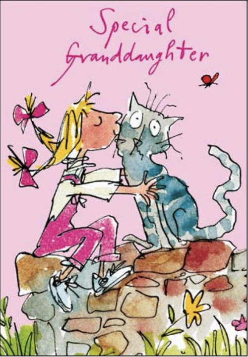 Quentin Blake Special Granddaughter card - Daisy Park