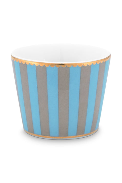 Pip Studio Love Birds blue khaki egg cup