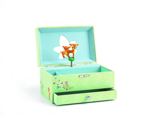 Djeco Fawn Musical Jewellery Box - Daisy Park
