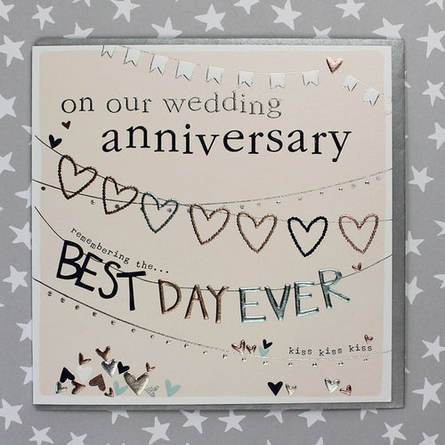 On our wedding anniversary card - Daisy Park