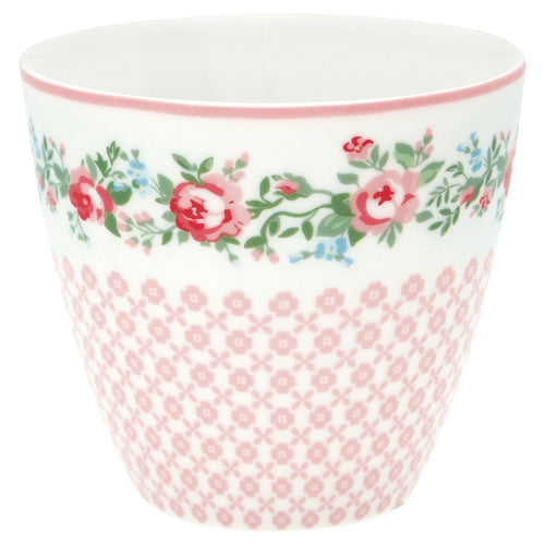 Greengate Gabby white Latte cup - Daisy Park