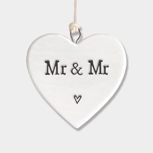 Mr & Mr Porcelain Heart