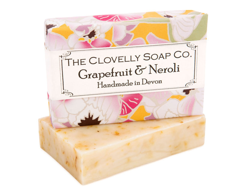 Clovelly soap Grapefruit & Neroli