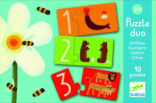Djeco Number puzzle duo - Daisy Park