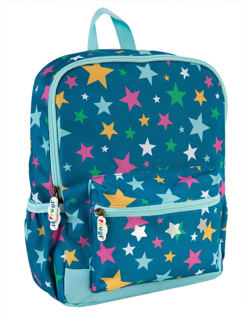 Frugi Rainbow stars adventurers backpack - Daisy Park