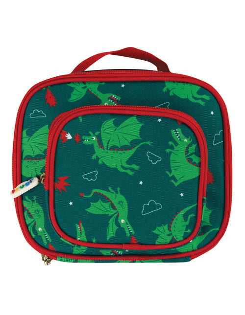 Frugi Dragon pack a snack lunch bag - Daisy Park