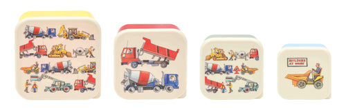 Emma Bridgewater Builders at work set of 4 snack tub