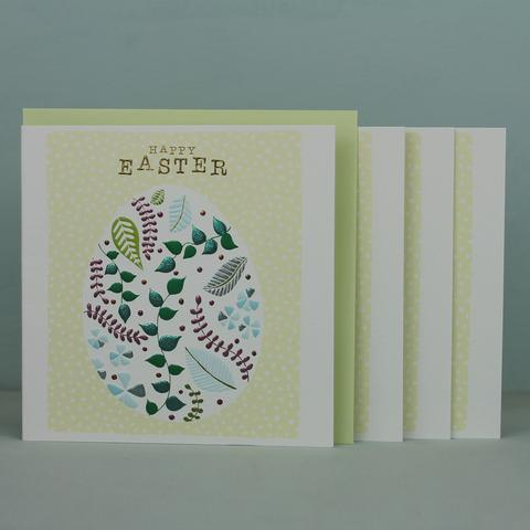 Easter Egg - Pack of 4 Cards - Daisy Park