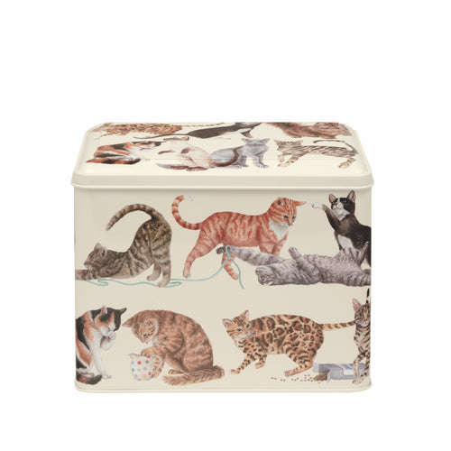 Emma Bridgewater Cats extra large caddy - Daisy Park