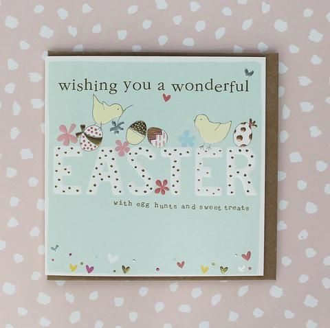 Wonderful Easter - Pack of 4 Cards - Daisy Park